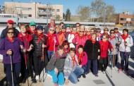 La passejada de la gent gran per Cerdanyola va comptar ahir amb 32 veïns de la Llagosta