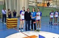 Marina Millán, campiona de Catalunya cadet amb el BM Granollers