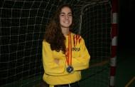 Marina Millán, convocada per disputar l'Europeu cadet d'handbol platja