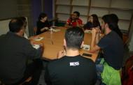 Can Pelegrí va acollir ahir un taller per a joves sobre com buscar feina al Nadal