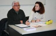 Aina Vidal, diputada d'En Comú Podem, reivindica pensions dignes en un acte a la Llagosta