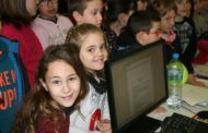Alumnes de quart de Primària de l'Escola Sagrada Família han visitat aquest matí l'Ajuntament