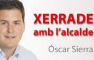 Aquesta tarda, se celebra una nova xerrada amb l'alcalde, Óscar Sierra
