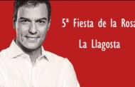 El PSC de la Llagosta comptarà amb Pedro Sánchez a la Festa de la Rosa de diumenge