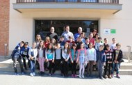 L'alumnat de quart de l'Escola Gilpe ha visitat avui l'Ajuntament