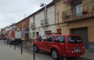 Un incendi provoca danys materials en un habitatge del carrer de les Escoles