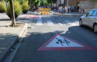 L'Ajuntament instal·la nous senyals de trànsit a les entrades de les escoles