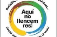 El Consorci de Residus del Vallès Oriental porta a terme a la Llagosta la campanya Aquí no llencem res
