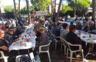 Unes 170 persones de la Llagosta assisteixen a la Festa de la Rosa del PSC