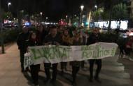 Manifestació pels carrers de la Llagosta en suport dels presidents de l'ANC i d'Òmnium Cultural i dels exconsellers