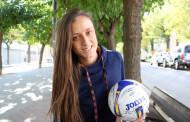 Estefa Jémez, tercera millor jugadora de futbol sala de Catalunya de la temporada passada