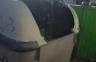 Nou intent de crema de contenidors d'escombraries