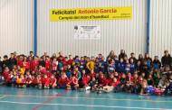 El Joventut Handbol recapta uns 400 euros per a la Marató de TV3