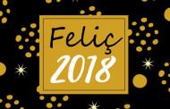 El Centre Cultural acull la festa per donar la benvinguda al 2018