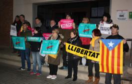 Nova concentració per demanar l'alliberament dels presidents de l'ANC i d'Òmnium Cultural