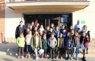 L'alumnat de quart de Primària de l'Escola Gilpe visita l'Ajuntament