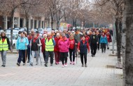 La Llagosta ha acollit avui una excursió del Cicle de passejades per a la gent gran