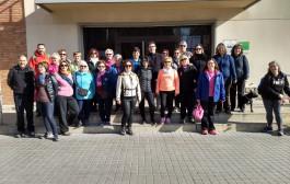 Una trentena de persones participen a la passejada de Veus de Dona