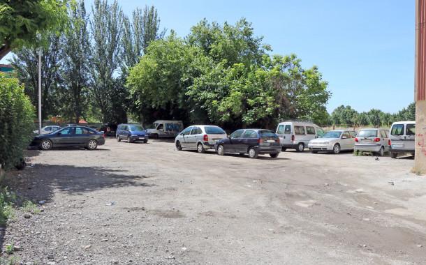 Dilluns, començaran les obres de condicionament del pàrquing situat al costat de la plaça de Pere IV