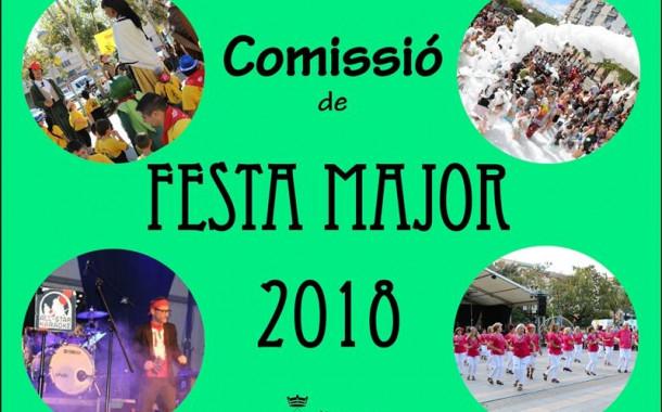 Avui es constitueix la Comissió de la Festa Major 2018
