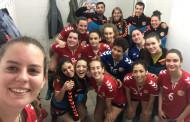 Primera victòria del sènior femení del Joventut Handbol a la Copa Federació