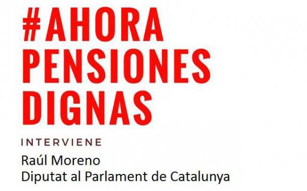 El PSC de la Llagosta celebra aquesta tarda un acte per parlar sobre pensions dignes