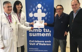 La Murga lliura més de 1.300 euros a l'Hospital de la Vall d'Hebron