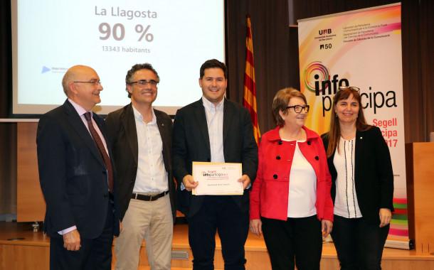 L'Ajuntament de la Llagosta obté el Segell Infoparticipa per la qualitat i transparència del seu web