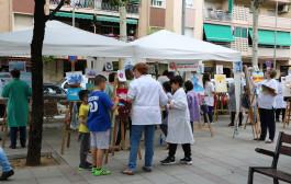 L'Escola de Pintura de la Casa del Pueblo tanca el curs sortint al carrer