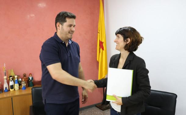 L'Ajuntament i Humana signen un nou conveni de col·laboració