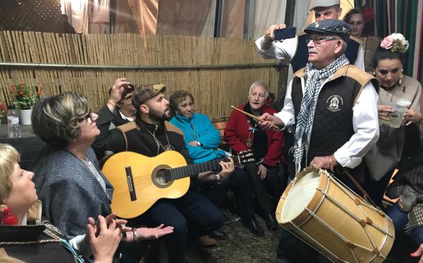 L'Asociación Rociera Andaluza de la Llagosta va participar al Rocío català