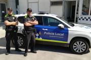 La Policia Local estrena uniformes i un nou vehicle