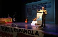 Una vintena de persones a l'homenatge a Cervantes del Fórum de Debate Llagostense