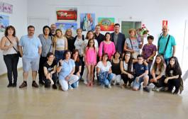 La mostra de l'Escola de Pintura de la Casa del Pueblo es pot veure fins al 22 de juny
