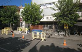 L'Ajuntament amplia la vorera de l'avinguda del Primer de Maig a l'alçada de l'Escola Gilpe