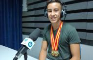 Max Pedrola, campió d'Espanya de gimnàstica artística