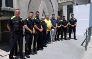 Els nous policies locals de la Llagosta han prés possessió del seu nomenament