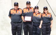 L'Associació de Voluntaris de Protecció Civil estrena nou uniforme i Manuel Muñoz rep un reconeixement