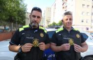 La Policia Local se suma a la campanya d'escuts solidaris contra el càncer infantil