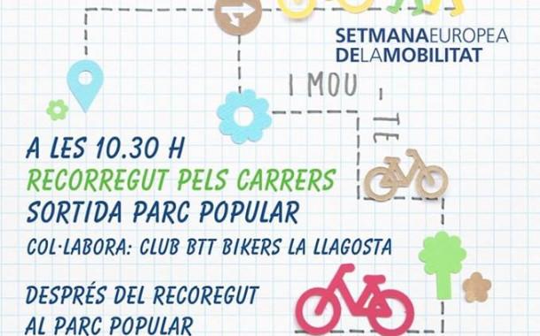 La Llagosta se suma a la Setmana de la Mobilitat amb una caminada i la Diada de la bicicleta