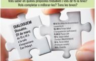 ICV-EUiA farà demà una jornada per debatre diversos temes amb la ciutadania