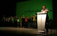 Alberto López reivindica la bona gestió del govern en l'acte de presentació de la candidatura d'ICV-EUiA