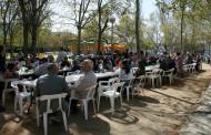 La Festa de la Rosa del PSC de la Llagosta aplega unes 400 persones