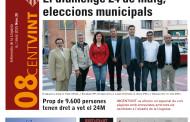 L'Ajuntament distribueix avui el 08CENTVINT amb un especial sobre les eleccions municipals