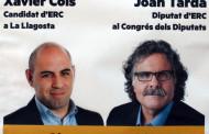 ERC farà avui a les 19.30 hores un míting a la plaça d'Antoni Baqué