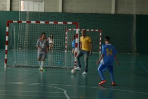 L'exjugador del Barça, Igor Lima, fa un entrenament amb el CD la Concòrdia