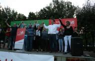 Óscar Sierra tanca la campanya posant en valor el seu equip i esperançat que la Llagosta votarà socialista