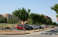 L'aparcament públic del camp municipal de futbol Joan Gelabert ja està obert