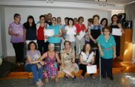 La Biblioteca reconeix la tasca del grup de voluntàries del curs 2014-2015