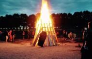 Nit de Sant Joan tranquil·la a la Llagosta, que ha recuperat la tradició de la Flama del Canigó